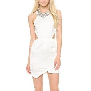 STYLESTALKER True Romance Dress in Off White